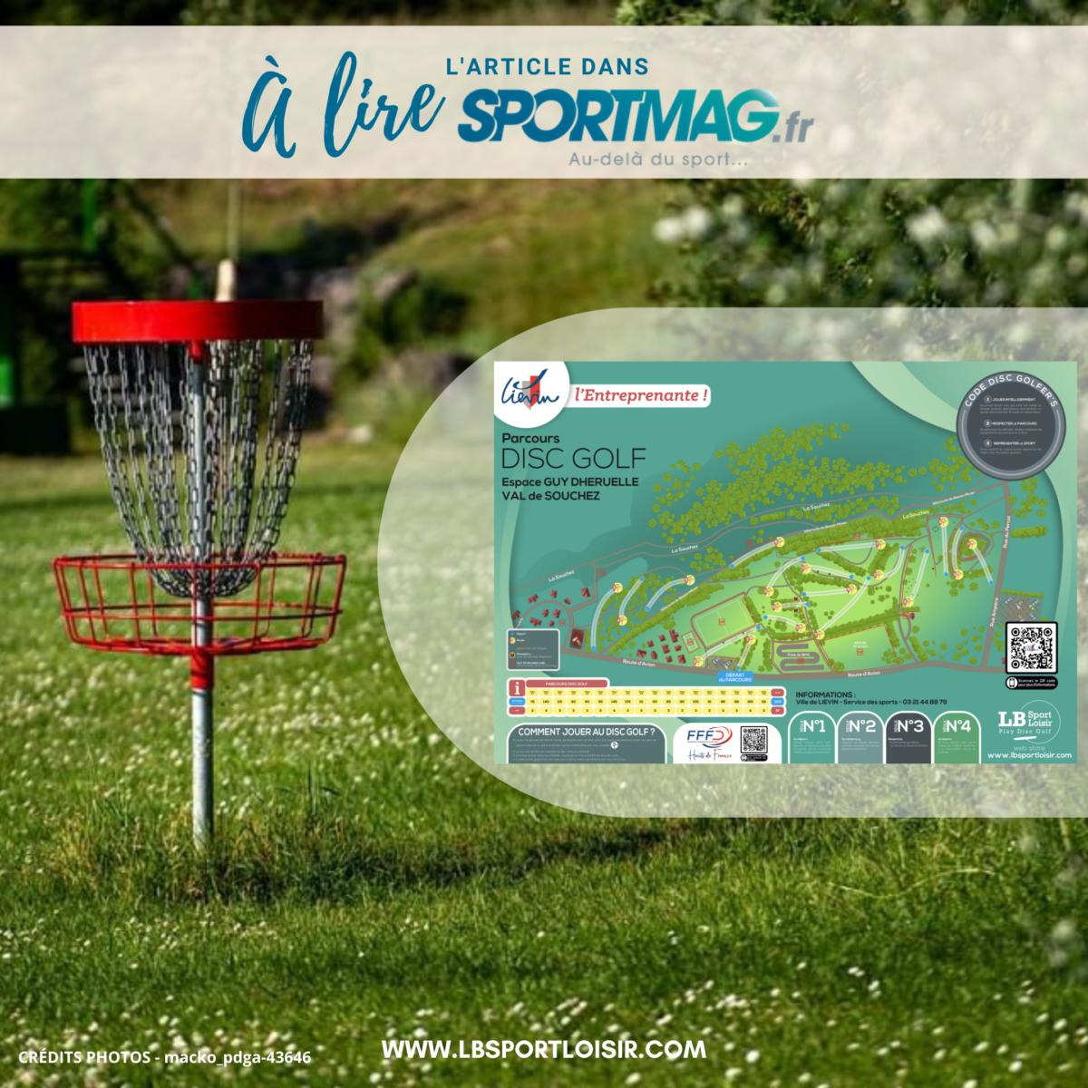 Le Disc Golf s'impose à Liévin, LB Sport Loisir y participe !